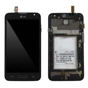 LG L70 D325 - Full Front LCD Digitizer with frame Black