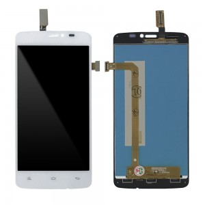 Gionee E3 Mini V4S MEO A66 - Full Front LCD Digitizer White