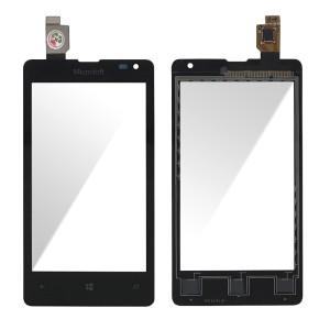 Nokia Lumia 532 - Front Glass Digitizer Black