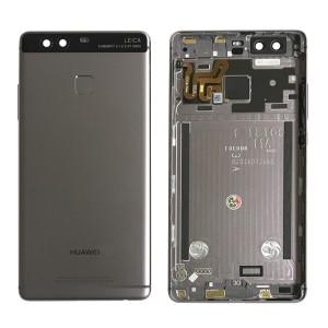 Huawei Ascend P9 - Back Housing with Fingerprint Sensor Flex Black