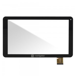 Universal 10.1 inch - Front Glass Digitizer Black DH-1072A1-PG-FPC234