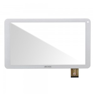 Archos 101E - Front Glass Digitizer White HXD-1072