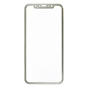 iPhone X / XS / 11 Pro  - 3D Full Arc Covered Tempered Glass Aluminium Edge Series