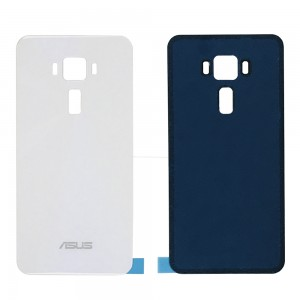 Asus Zenfone 3 ZE520KL - Battery Cover White with Adhesive