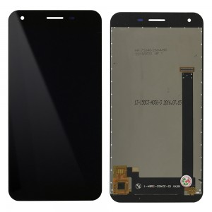 Elephone S1 - Full Front LCD Digitizer Black HIFAY 15-32402-2684-1