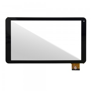 Universal 10.1 inch 50 Pin - Front Glass Digitizer Black XC-PG1010-033-A2