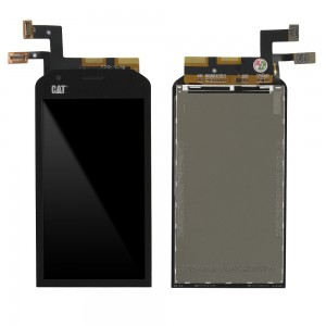 CAT S40 - Full Front LCD Digitizer Black