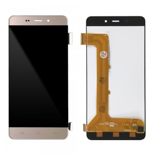 Meo Staraddict 6 - Full Front LCD Digitizer Gold