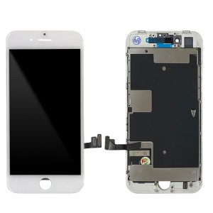 iPhone 8 - LCD Digitizer (Original Remaded) White