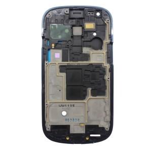 Samsung Galaxy S3 Mini I8190 - Moldura LCD Azul