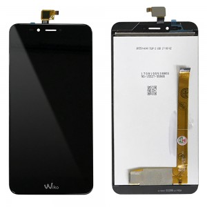 Wiko U Pulse - Full Front LCD Digitizer Black