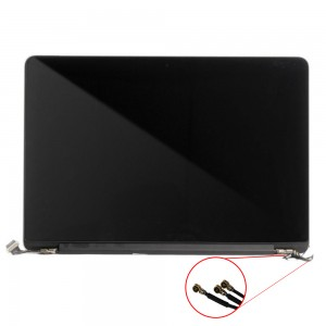 Macbook Pro Retina 13 inch A1502 2013 - Full Front LCD with Housing Silver