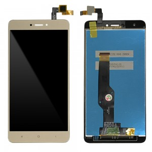 Xiaomi Redmi Note 4X - Full Front LCD Digitizer Gold Snapdragon Version