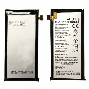 Alcatel OneTouch Go Play 7048W 7048X - Battery TLP025C 2500mAh 9.55Wh