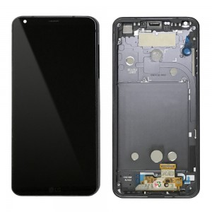LG Optimus G6 H870 - Full Front LCD Digitizer with Frame Black