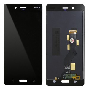 Nokia 8 - Full Front LCD Digitizer Black