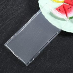Sony Xperia XZ Premium - Drop-resistant Clear TPU Back Case Transparent