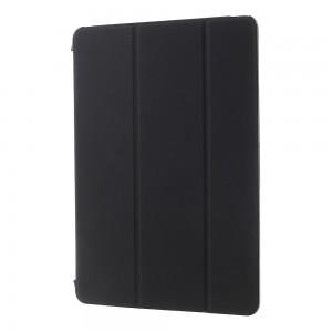 iPad Air / iPad 9.7 (2017) - Tri-folding Smart Leather Flip + PC Back Case