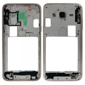 Samsung Galaxy J3 2016 J320 Duos - Chassis Middle Frame Silver