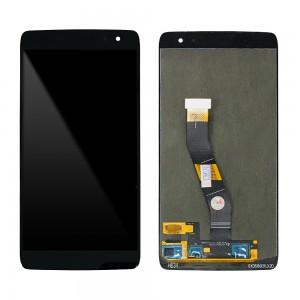Alcatel Idol 4S 6070K - Full Front LCD Digitizer Black AMS549JG12 REV 2.1