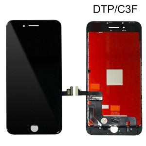 iPhone 8 Plus - LCD Digitizer (Original Remaded) Black (Comp. DTP/C3F)