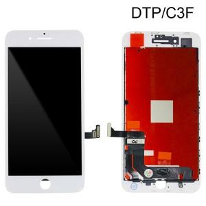 iPhone 8 Plus - LCD Digitizer (Original Remaded) White (Comp. DTP/C3F)