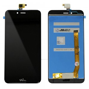 Wiko U Pulse Lite - Full Front LCD Digitizer Black