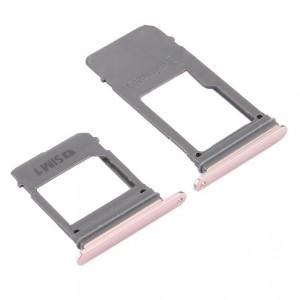 Samsung Galaxy A5 2017 A520 / A7 2017 A720 - Sim Tray and SD Card Tray Pink