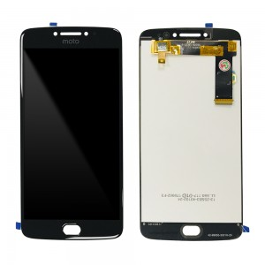 Motorola Moto E4 Plus - Full Front LCD Digitizer Black