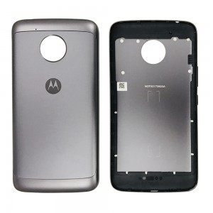 Motorola Moto E4 Plus US Version - Back Housing Cover Black