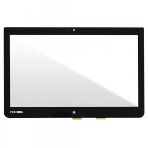 Toshiba Satellite Radius 11 - Front Glass Digitizer Black