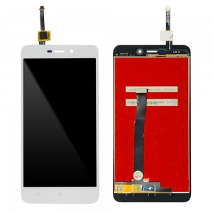 Xiaomi Redmi 4A - Full Front LCD Digitizer White