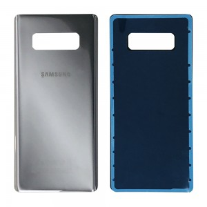 Samsung Galaxy Note 8 N950 - Battery Cover with Adhesive Silver