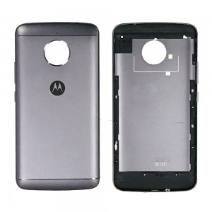 Motorola Moto E4 Plus EU Version - Back Housing Cover Black
