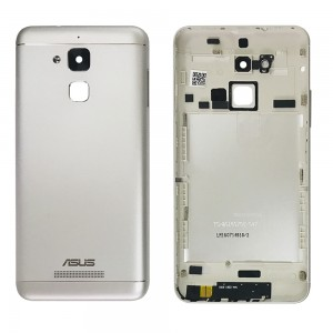 Asus Zenfone 3 Max ZC520TL - Back Housing Cover Silver