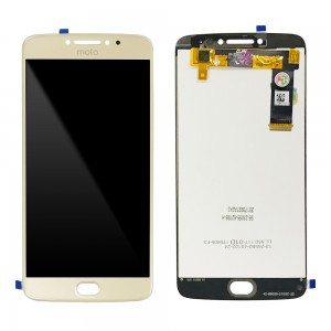 Motorola Moto E4 Plus - Full Front LCD Digitizer Gold