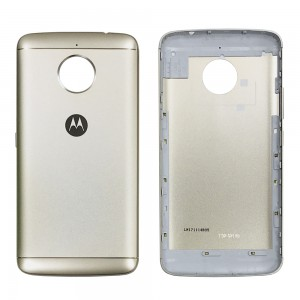 Motorola E4 Plus - Back Housing Cover Gold