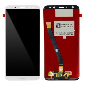 Huawei Ascend Mate 10 Lite / G10 - OEM Full Front LCD Digitizer White