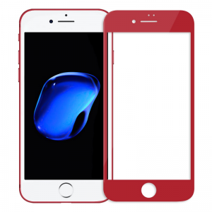 iPhone 7 Plus / 8 Plus - NillKin 3D CP+ Max Full Coverage Anti-explosion Tempered Glass Red