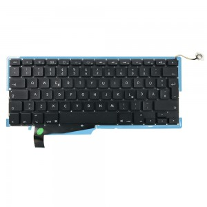Macbook Pro 15 inch A1286 2008 - German Keyboard DE Layout with Backlight