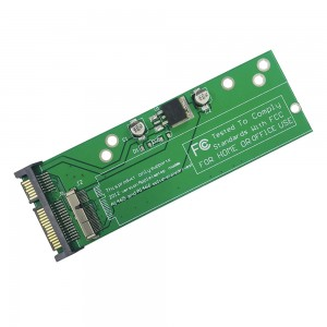 Apple MacBook Air A1465 A1466 2012 - SSD Convert to 3.5'' SATA 22p 5V 3.3V Converter with Screws