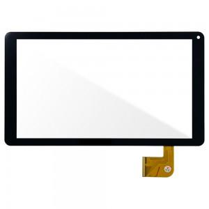 Universal 10.1 inch FX-C10.1-213-V1  / Denver TAQ-10233 - Front Glass Digitizer Black