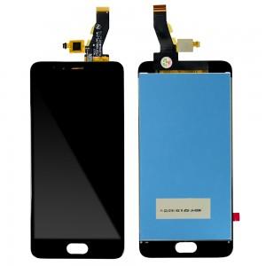 Meizu M5S - Full Front LCD Digitizer Black