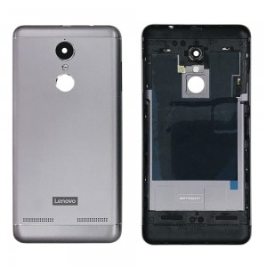 Lenovo Vibe K6 - Back Housing Cover Grey