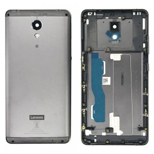 Lenovo P2 - Back Housing Cover with Camera Lens Grey