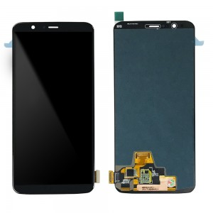 OnePlus 5T - Full Front LCD Digitizer Black