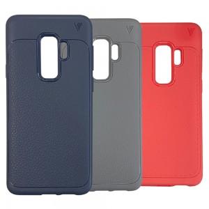 Samsung Galaxy S9 Plus G965 - Lenuo Dermatoglyph Design Soft Silicone Case