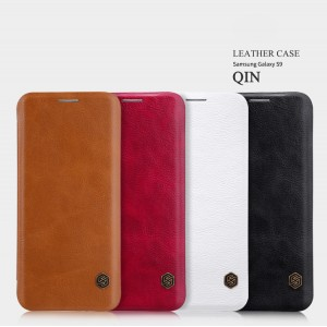 Samsung Galaxy S9 G960 - NILLKIN Qin Leather Case