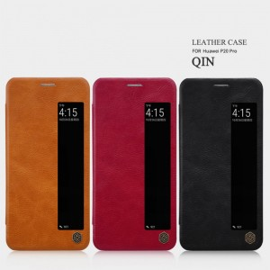 Huawei P20 Pro - NILLKIN Qin Leather Case