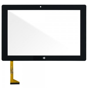 Universal 10.1 inch - Front Glass Digitizer FPCA-10A02-V0.3 Black